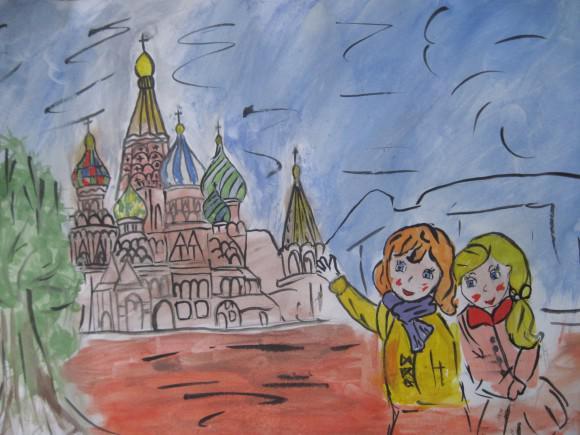 Конкурс рисунков россия моя гордость